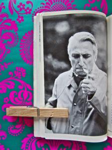 Photo de Roland Barthes auteur d'un livre de référence sur le récit