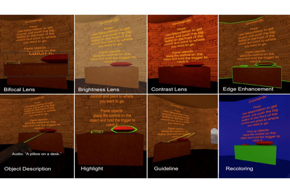 Microsoft Research présente une boîte à outils pour aider les malvoyants à utiliser la réalité virtuelle