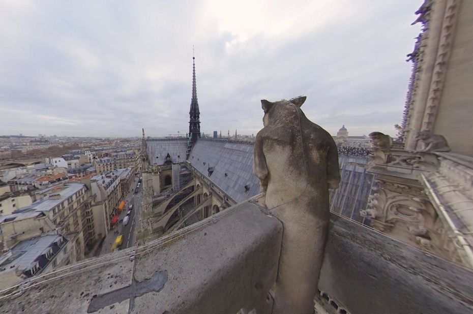 Incendie de Notre-Dame de Paris : visitez les toits disparus de la cathédrale en réalité virtuelle